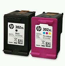 HP 302xl Nero & Cartucce Di Inchiostro a Colori remanufactored per Deskjet 1110 2130 3630