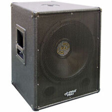 New Pyle PASW18 1000 Watt 18'' Stage PA Subwoofer Cabinet DJ Pro