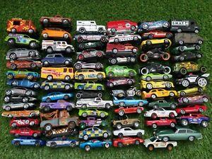 Mixed Vintage + 00s Corgi Hot Wheels + more brands Toy Diecast Cars Job Lot