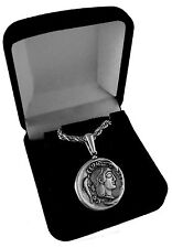 Artemis, Goddess of the Hunt, Twin Sister of Apollo, Pendant and Chain 8-S