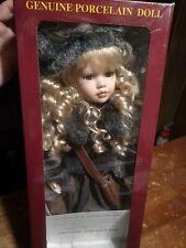 Century Collection Genuine Porcelain Doll # 180382 Jessica~Rebecca Rose