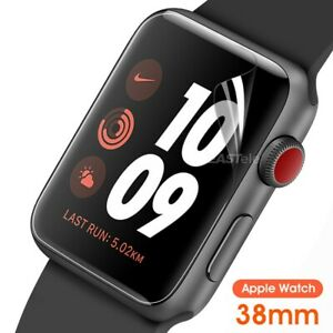 3Pack Screen Protector For Apple Watch Series SE 6 5 4 3 2 38/42/40/44mm iWatch
