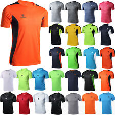 Men's Quick Dry Sports Gym Compression Workout Fitness Stretch T-Shirt Tops Tee