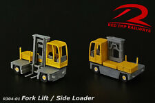 N Gauge - Fork Lift / Side Loader - Model Railway Scenery Building Kit