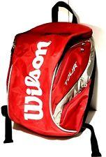 Nwot Wilson K Factor Tour Backpack Bag Red Black White Brand New Retail $129+