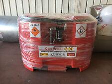 Serbatoio 440 Lt trasporto gasolio in polietilene con pompa inclusa carry fuel