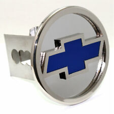 """Chevrolet Logo Chrome Tow 2"""" Receiver Hitch Cover Real Stainless Steel Plug"""