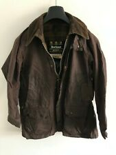 Mens Barbour Bedale wax jacket Brown coat 36 in size Small / Extra Small S/XS
