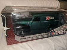 Matco Tools 1:18 1948 Chevy Panel Delivery Two Tone Dark Green Black Die Cast NR