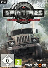 Spintires - DVD - Box  Offroad Truck Simulator (PC, 2014)  (me15)