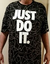 NWT New Men's NIKE Dri-Fit SHIRT XL, XLT BASKETBALL Big & Tall Black Just Do It