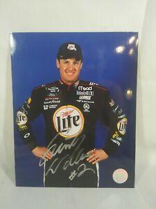 Autographed NASCAR Photos DRIVER 1980 thru 2005 55 Wins 202 T5 349 T10 8x10 Color Rusty Wallace Autographed Photograph