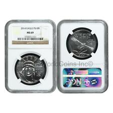 USA 2014 Eagle $100 1 oz Platinum NGC MS69 SKU#6397