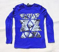 Tee-Shirt Bleu Tigre 14 ans