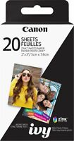 """Canon - ZINK Glossy Photo 2"""" x 3"""" 20-Count Paper"""