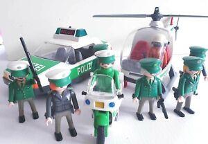 playmobil Ersatzteile Konvolut Polizei Auto Motorrad Figuren