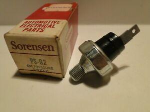 1955-1973 AMC Rambler Ambassador NOS Oil Pressure Switch Sensor 3142826 PS-92