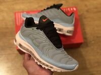 NIKE AIR MAX 97/PLUS MICA GREEN OFF WHITE TRAINERS SHOES SIZE UK4 EUR37 US4.5