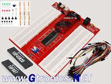 Starter Kit PIC ProtoBoard – prototipazione rapida per MICROCHIP PIC + PICKIT3