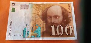 BILLET 100 FRANCS CEZANNE  1997