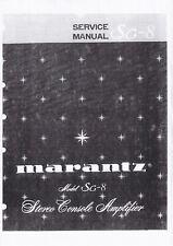 Service Manual-Anleitung für Marantz SC-8