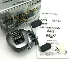 Shimano ALDEBARAN Mg Left Handed Bait Casting Reel In Box <Near Mint> JAPAN【DHL】