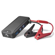 Tragbare Auto Starthilfe KFZ Lampe Dual USB 12000 mAh Externer Akku Powerbank