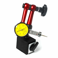 Magnetic Metal Base Stand Holder & Dial Test Gauge Scale Precision Indicator New