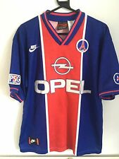 Vintage Pairs Saint German Football Shirt Nike Opel Men's 94 -95 Large PSG
