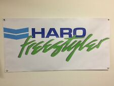 old school bmx haro freestyler green Banner 2ft X 2ft vdc hutch gt se racing