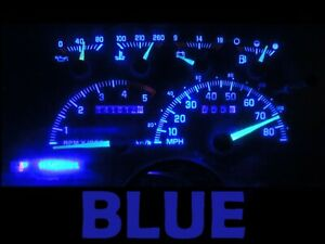 Gauge Cluster LED Dashboard Bulbs Blue For Chevy GMC 92 94 C/K Series Truck