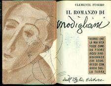FUSERO Clemente, Il romanzo di Modigliani