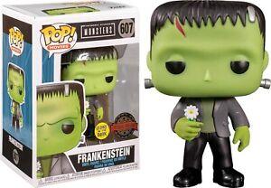 Universal Monsters Frankenstein with Flower Glows Pop! Funko vinyl figure n° 607