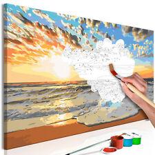 Malen nach Zahlen Erwachsene Wandbild Malset mit Pinsel Malvorlagen n-A-0555-d-a