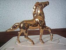 """Hagen Renaker Lmt. Edition Sr Feng Shui Golden Running Horse #1 3 1/4"""" Tall"""