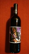 Celebrity Cellars Jimi Hendrix 1997 First Edition De-Alchololized Red Table Wine
