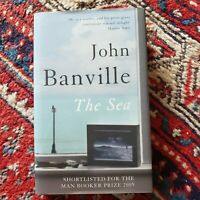 THE SEA SIGNED BY JOHN BANVILLE FIRST UK EDITION  FINE COPY BOOKER PRIZE WINNER