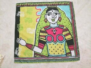 face multi- Color Painting On Silk 100% Silk Scarf Burberry ancient drawing art