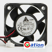For 1Pcs DELTA AFB0512HD 5CM 12V 0.15A 5020 fan