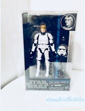 "Star Wars Black Series #12 Luke Skywalker (Stormtrooper) 6"" Figure W/Protector"
