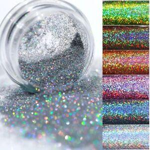 Polish Nail Glitter Sequins Art Holographic Glitter powder Hexagan Nail Art Pink
