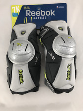 "Reebok 7K Arm Pad Grey/Lime XL Extra Large Lacrosse Arm Guard 6'3""- 6'6"""