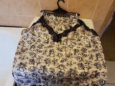 Ann Summers Voyeur Satin Cami Top & Shorts Nightwear Set Extra Large 20-22 NWT