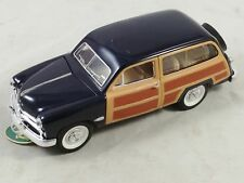 db 1949 Ford Woody Wagon Blue 1/24 scale #SS8702 By Sunnyside