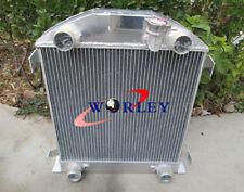 3 ROW FOR FORD Model A W/FLATHEAD ENGINE 1928 1929 28 29 Aluminum Radiator