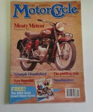 The classic motorcycle magazine UNOPENED Royal Enfield Triumph April 1992