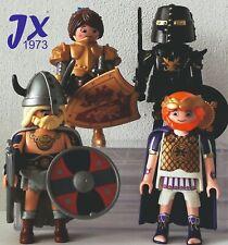 PLAYMOBIL PERSONAJES MOVIE senador luchadora vikingo soldado