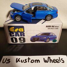 Era Car 09 1/64 Audi A6 Blue