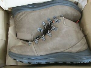 BNIB Merrell Ontario Suede Mid Men's Hiking Boots, Canteen, Size 8.5M, J65397