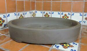 "XL Yixing 18"" High Quality Unglazed Oval Bonsai Pot Bonsai Pots"